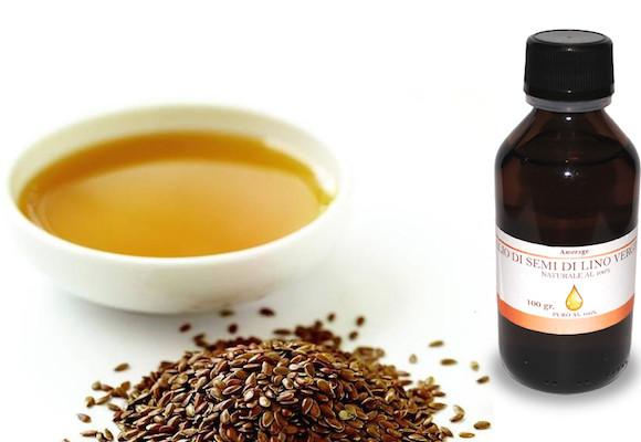 Olio vegetale di semi di lino