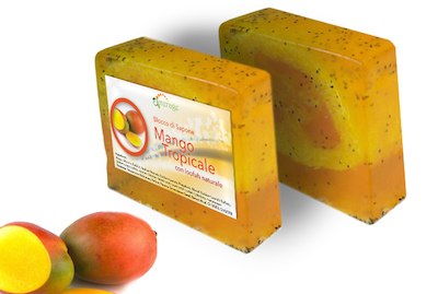 sapone al mango tropicale