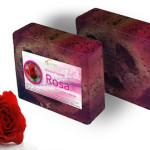 sapone alla rosa